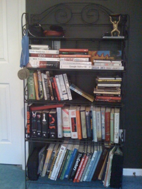 Monica Wright's Bookshelf